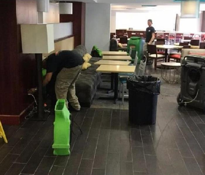 Water Damage to Hotel in Covington, Kentucky