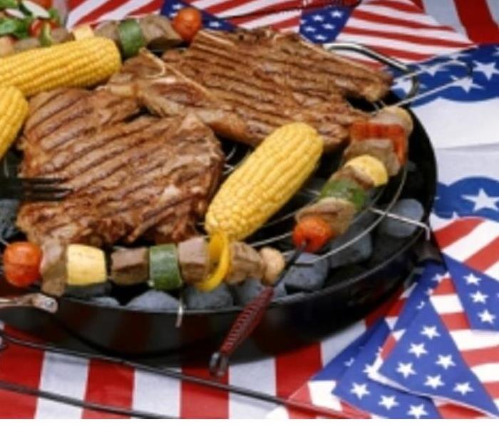 Mold Remediation Happy Memorial Day from SERVPRO of Kenton County! Get Your Grill Ready!